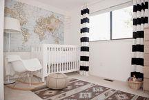 Home // Nursery / Nursery decorations and ideas.