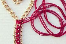 Chain bracelets  / My handmade bracelets