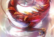 Amazing dragons