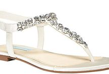 Low Heel Wedding Sandals  / Wedding Sandals perfect for any event with low heel heights!