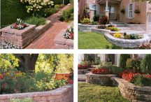 Gardering and landscaping around the house