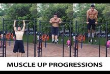 Muscle Up Progression