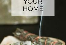 Cleansing the home
