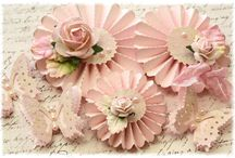 Paper Flowers- Roses Daisy etc / by Julianne Bingham