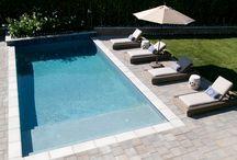 Pool backyard