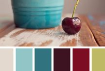 Palette deep red