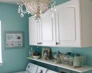 Home // Laundry Room / Laundry Rooms can be pretty too!