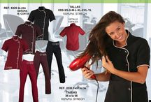 uniformes de estilista