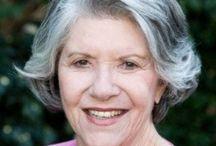 Hairstyles for older women grey hair
