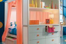 Tween girls bedroom ideas / Cool bedrooms