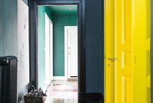 Paint gone wild! / Delightfully unusual color combinations, from fun wall designs to creative splashes of color, pinned to stir your imagination.