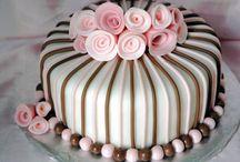 2D cake fondant