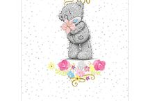 Me to You Bear Easter Greeting Cards