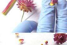 цветы из пластики