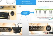 Oriflame Promo / This is promo on Oriflame...there's huge prize you can achieve if you can pass it