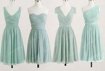 fav bridesmaid colours
