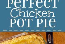 Savoury Pies / Chicken Pot Pie