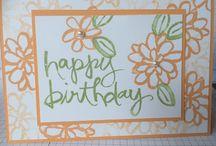 cards watercolor words su!