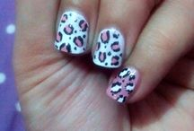 My own nail art / Nail art by me..