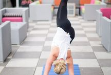 Yoga For Moms / Moms deserve to find time for themselves. Yoga can help moms destress, workout, and get a little quite time in between all the craziness of taking care of kids.