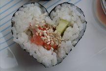Valentine's Day Heart Sushi / Valentine's Day Heart Sushi