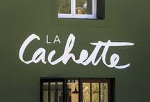 La Cachette - restaurant / #restaurant #guinguette #montpellier