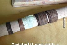 Деревянные кольца