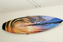 Surfboard Art by Brad Styron