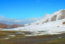 Oukaïmeden / La plus grande station de ski du Maroc située dans le Haut Atlas marocain à 74 km de Marrakech et 110 km d'Aït Ourir !