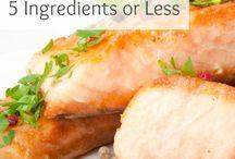 5 ingredient paleo meals / 5 ingredient paleo meals