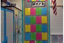 teaching | bright color decor