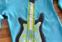 Guitar applique