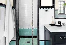 shower 1940s