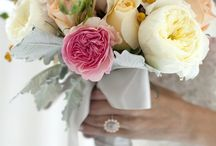 Flowers & bridesmaid