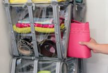 bag closet organization