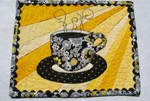Table-runners, placemats, mug rugs, pot holders