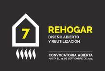 """""""Rehogar 2015"""" / Exposición de diseño abierto y reutilización. Desde el 15-10-15 hasta el 31-10-15."""
