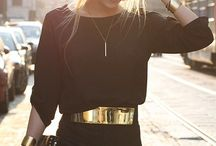 Belt up, lady! / A gorgeous belt can make an outfit, don't you think?
