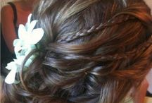 Wedding hair / Ideas of what to do with my crazy curls!
