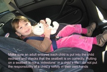 Kids In Cars / Keeping kids safe in cars! Car seats, songs, road rules, reducing sickness and other things to help you when travelling with kids!