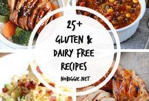 Gluten & dairy free foods