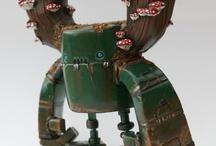 Funny Cute Robots