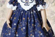 куклы и платья