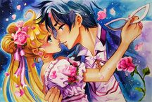 Sailor Moon / Check out all of the Sailor Moon fanart on Paigeeworld~! www.paigeeworld.com