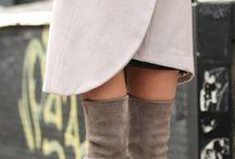 abrigos y botas