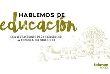 Hablemos de educación - canal Youtube tekman Books