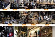 Locales Comerciales de Ropa, Indumentaria, etc Decoración, Diseño y Proyectos. Old-Rider-Garage.com