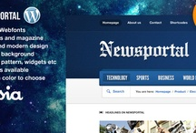 responsive wordpress news themes / by Druvision