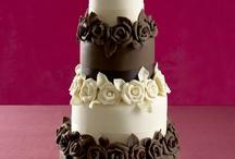 Inspiration - Chocolate Wedding Cakes