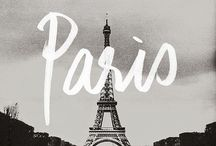 Paris / pinning places to visit on my future trip.